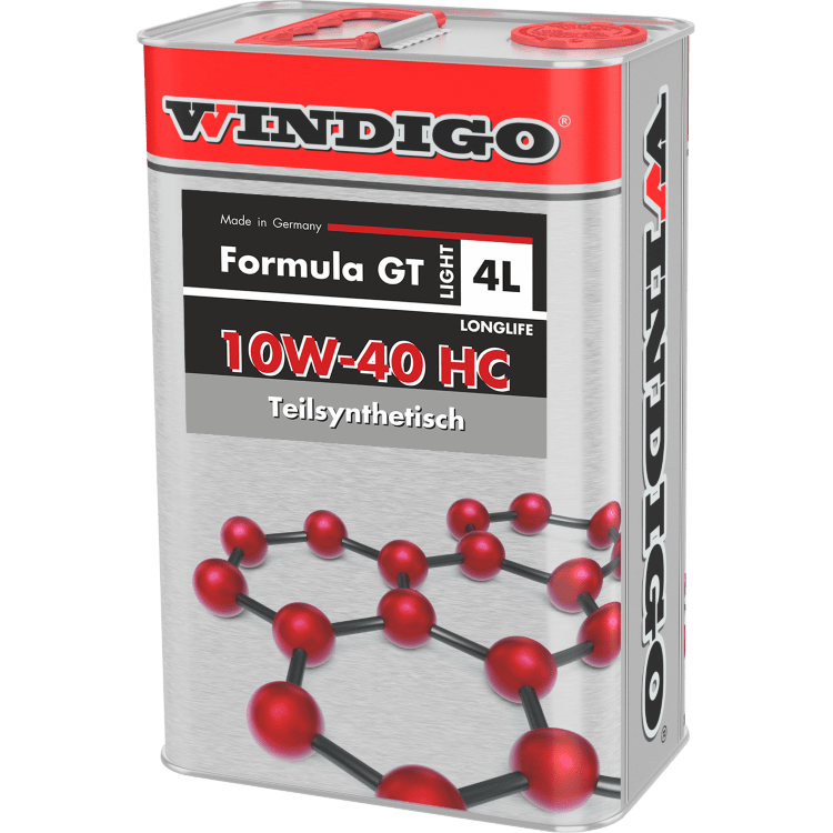 WINDIGO FORMULA GT 10W-40 HC LIGHT