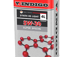 Новое масло WINDIGO 5W-30 SUPER SPECIAL LIGHT